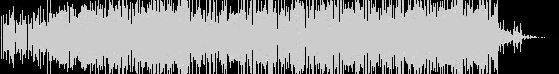 カラフルで弾けるような明るいポップスの未再生の波形