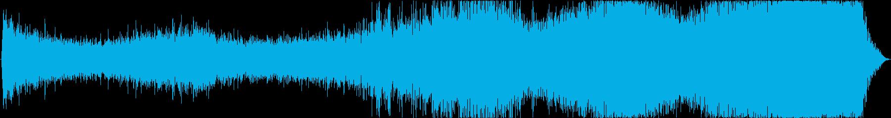 ドローン ガイガーカウンター01の再生済みの波形