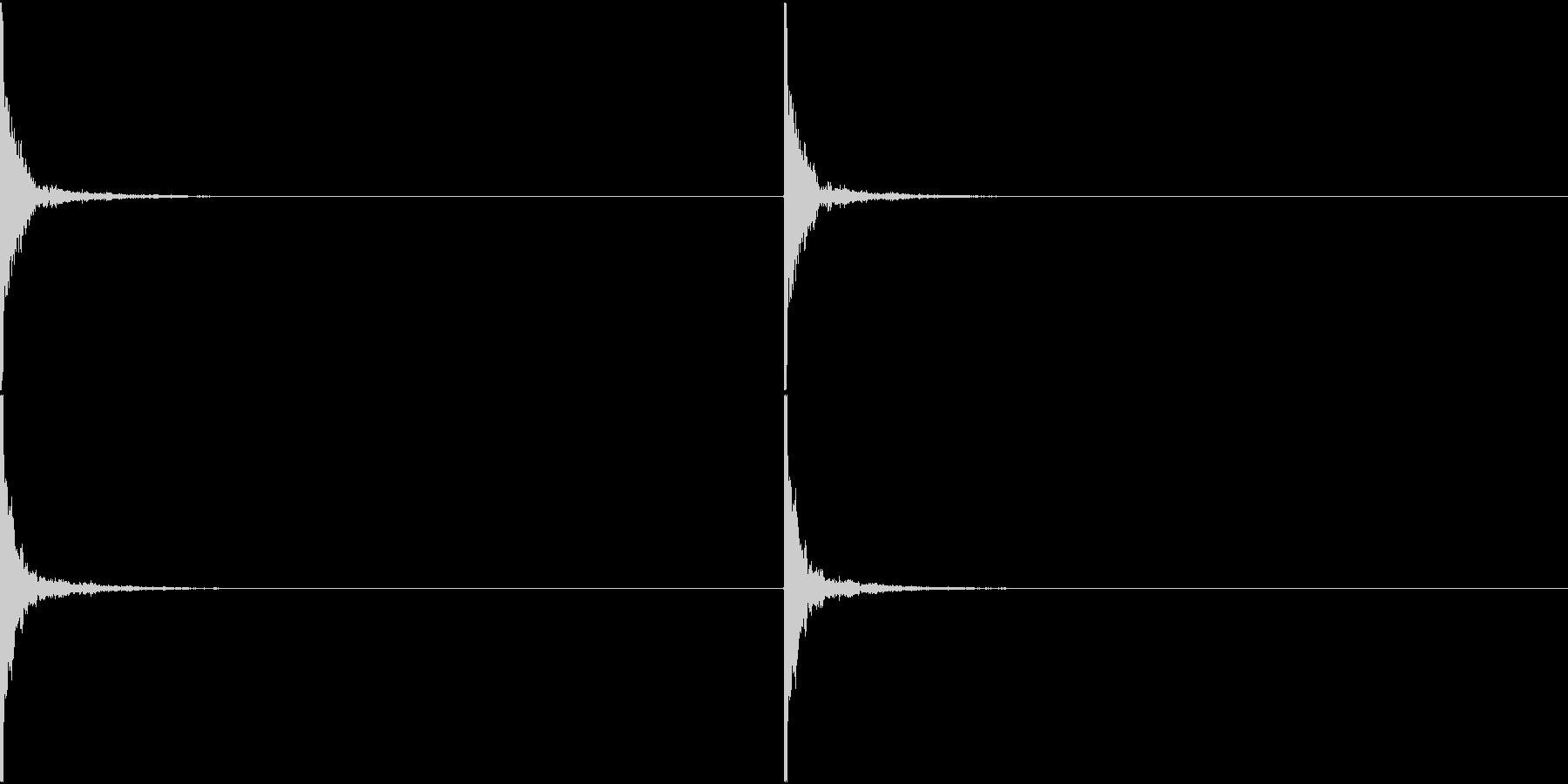 Japan 鼓の音 和楽器 2の未再生の波形