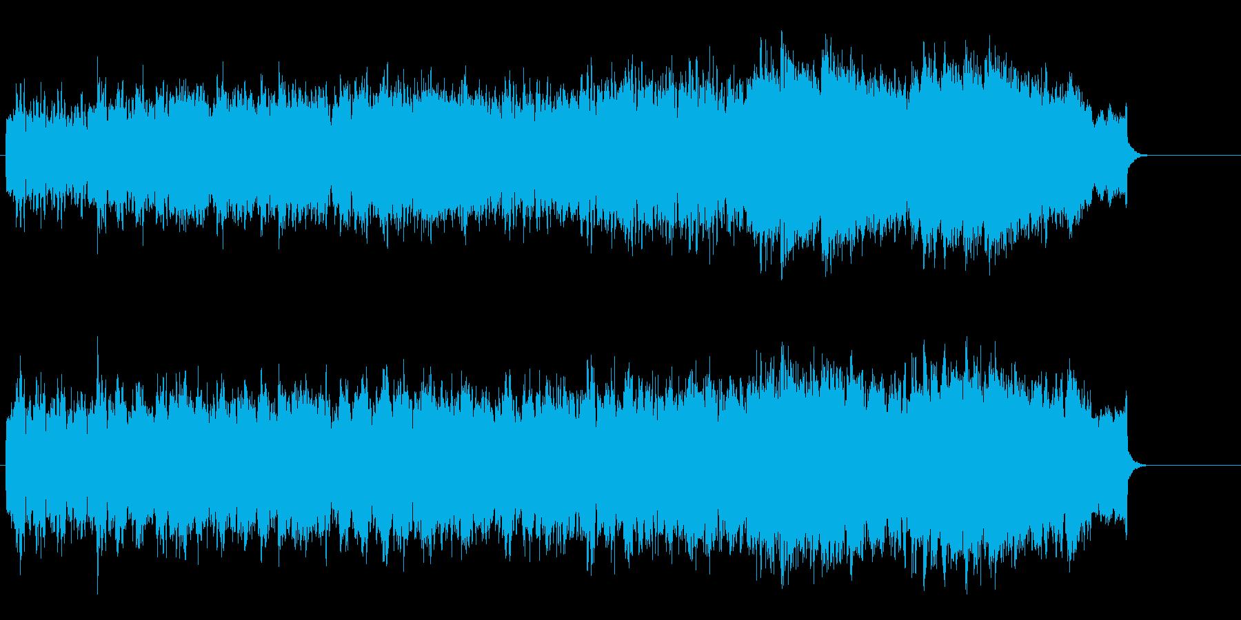 ピースフルなオーケストラ・サウンドの再生済みの波形