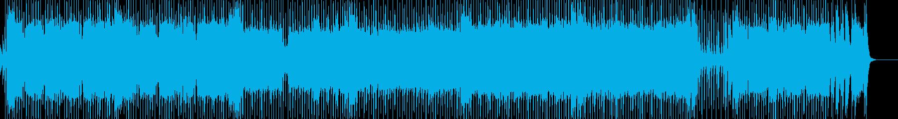 ブルージーなロックンロールスタイル...の再生済みの波形