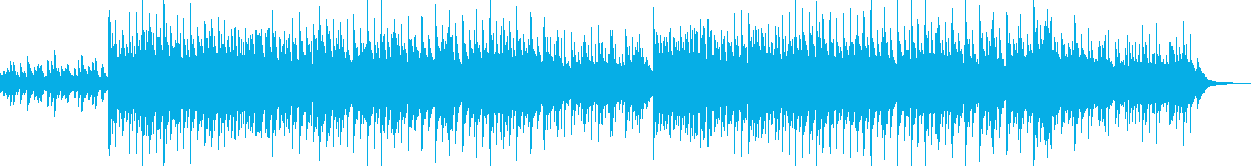 どこか懐かしい昭和の雰囲気のBGMの再生済みの波形