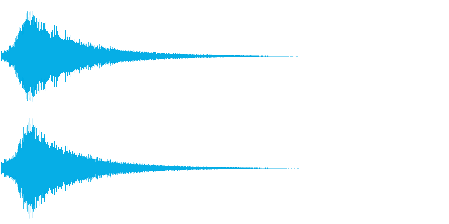 文字が左から右にキラキラ表示(速い)の再生済みの波形