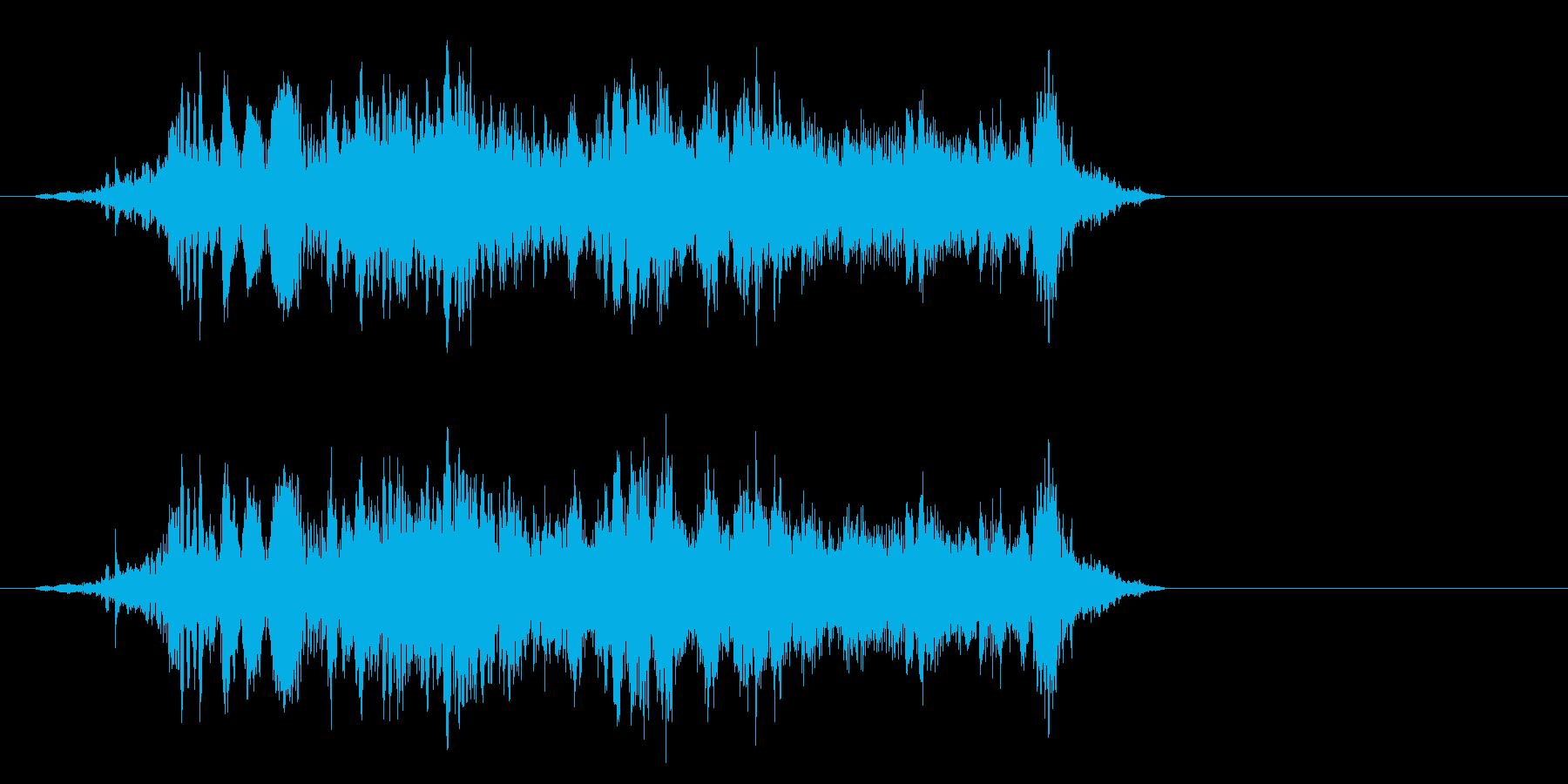 ブートアップ、ハイテクスタートアッ...の再生済みの波形