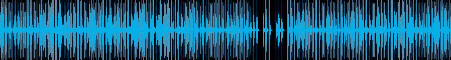 怪しく忍び込む時やイタズラなどの場面にの再生済みの波形