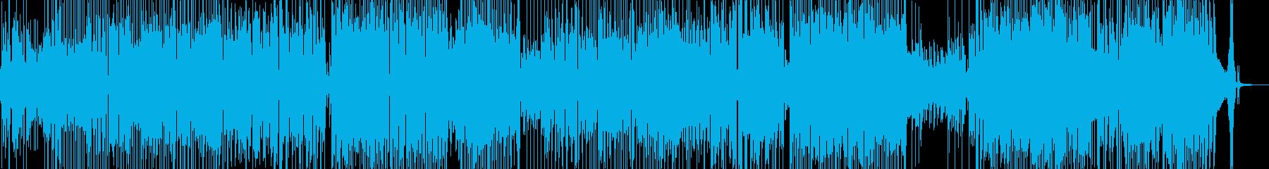 前向きで明るい気持ちになるジャズ 長尺の再生済みの波形