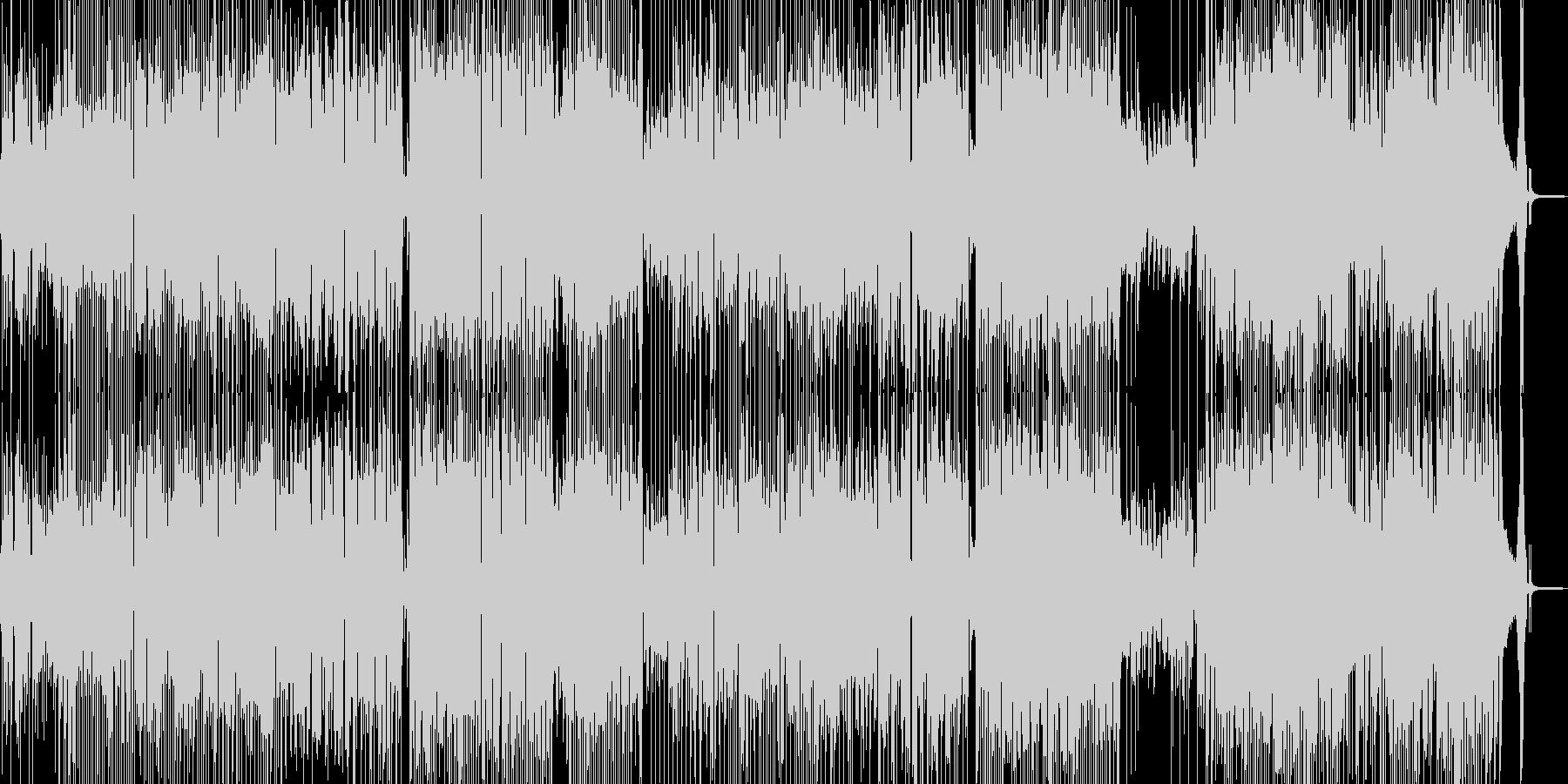 気分が晴れ晴れするハッピーなジャズ Aの未再生の波形