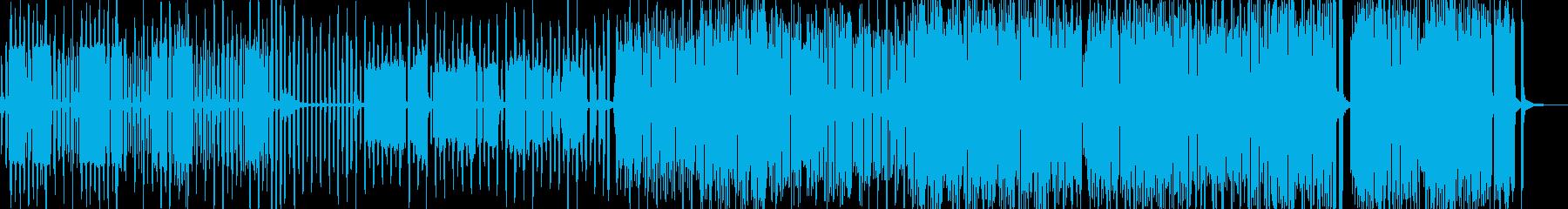 後ろめたい感情を描いたコミカルポップの再生済みの波形