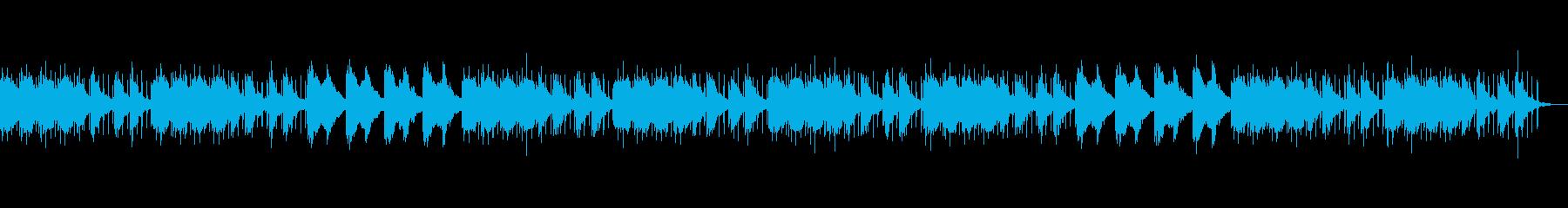 のんびり日和った暖かさのあるBGMの再生済みの波形