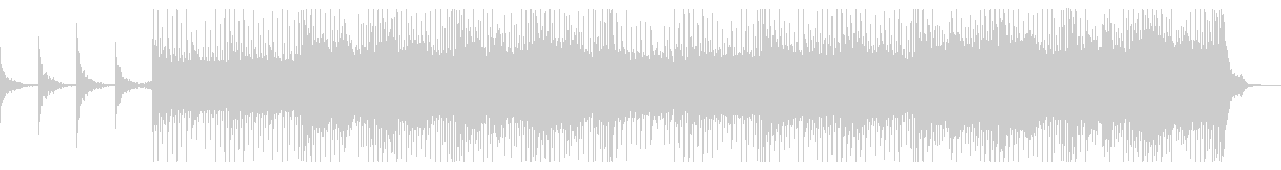 ディスコ レトロ シンセサイザー ...の未再生の波形