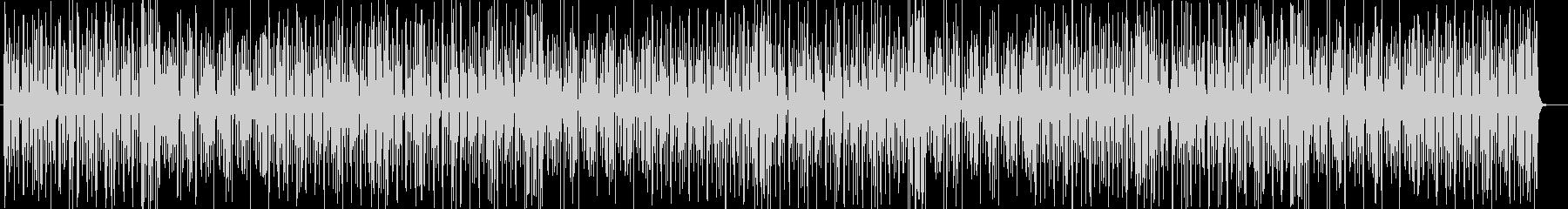 シリアスなトランペット弦楽器などジャズ系の未再生の波形