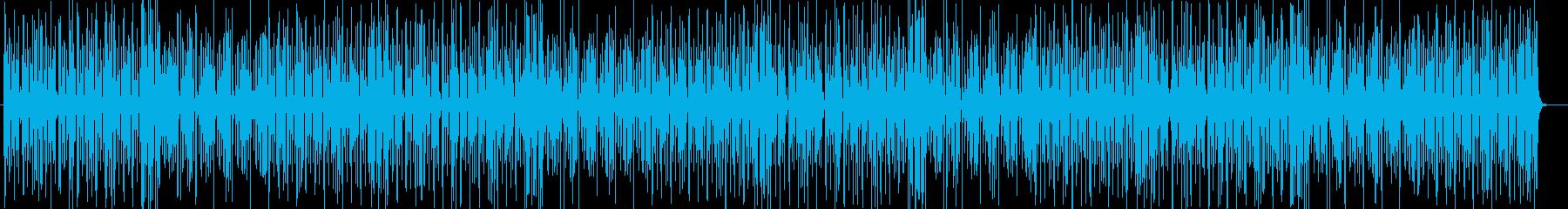 シリアスなトランペット弦楽器などジャズ系の再生済みの波形