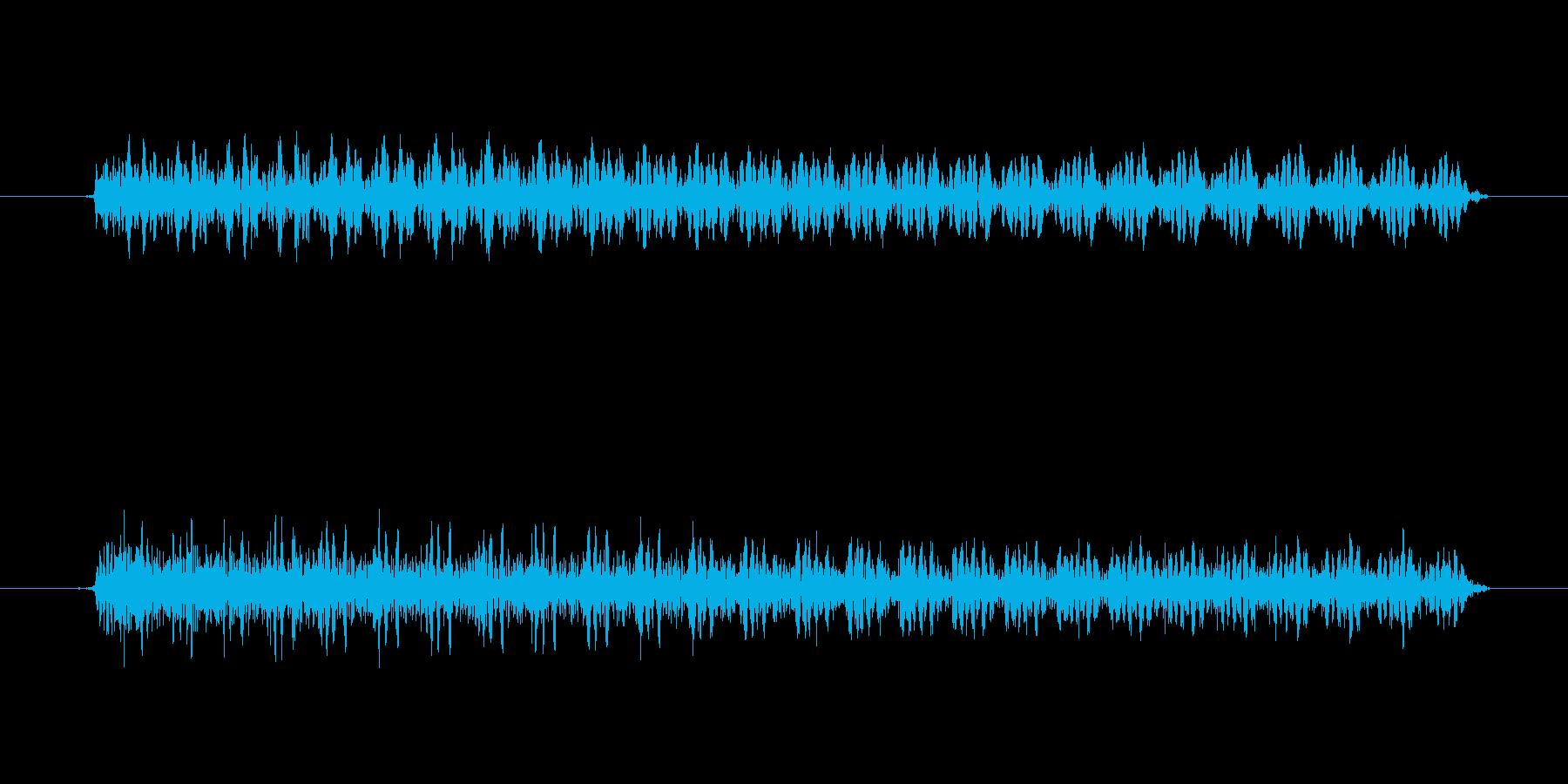 ゲーム、クイズ(ブー音)_007の再生済みの波形