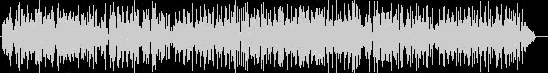 陽気な現代的シンセピアノサウンドの未再生の波形
