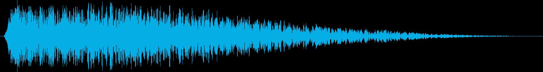 ヴィンテージ宇宙爆発、砂塵、宇宙振...の再生済みの波形