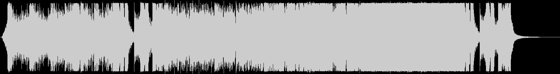レイドボス戦闘シーン3の未再生の波形