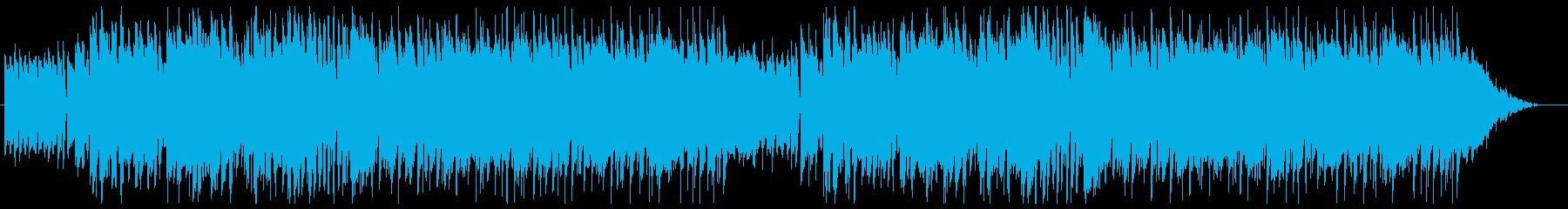 可愛い日常系トランペット、スイングの再生済みの波形