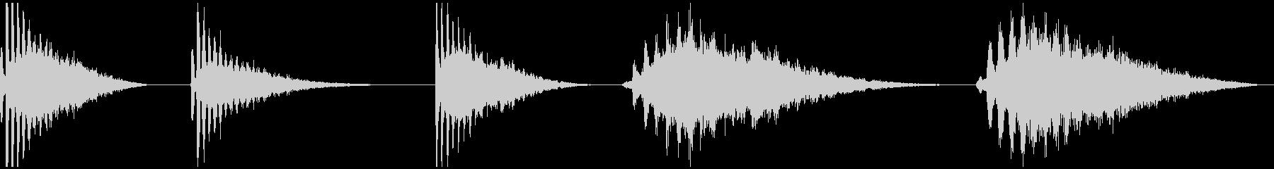 REZO SPACE、5バージョン...の未再生の波形