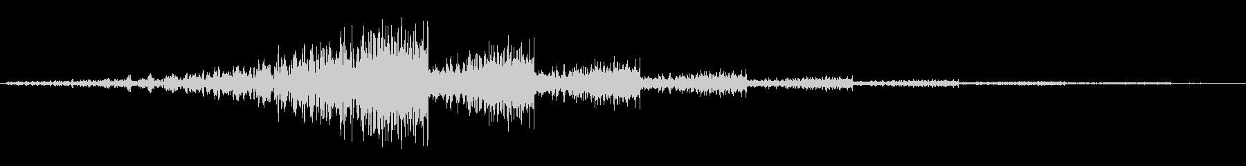 シューウワンワンワン…【余韻あり移動音】の未再生の波形