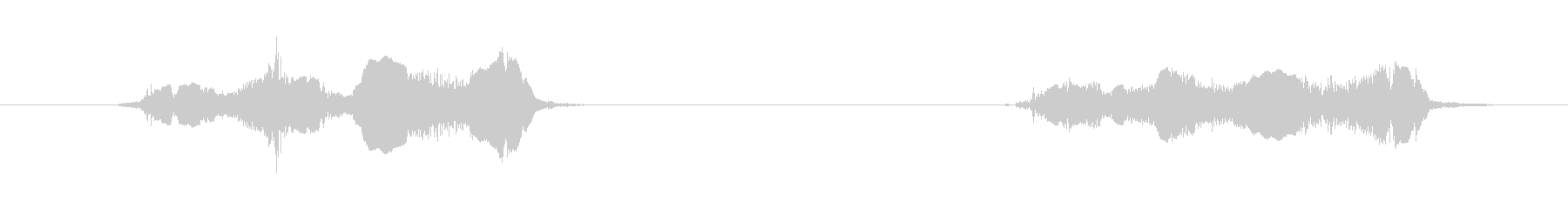 鳥 オウムスコー02の未再生の波形