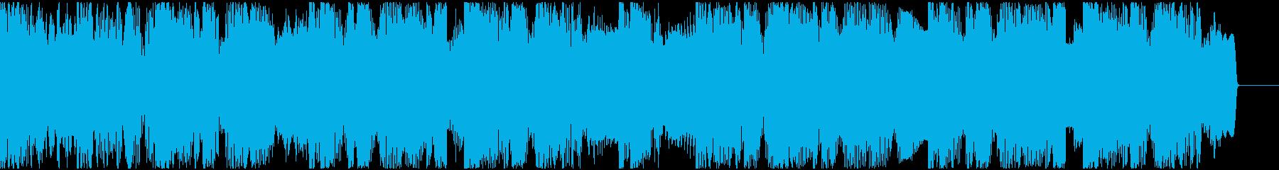 【EDM】ロング9、ショート3の再生済みの波形