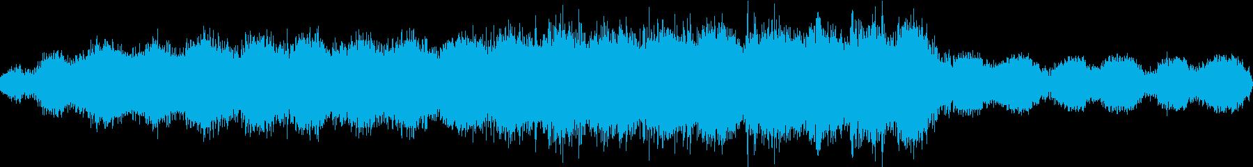 聖歌隊のドローンは、反響的な倍音と...の再生済みの波形