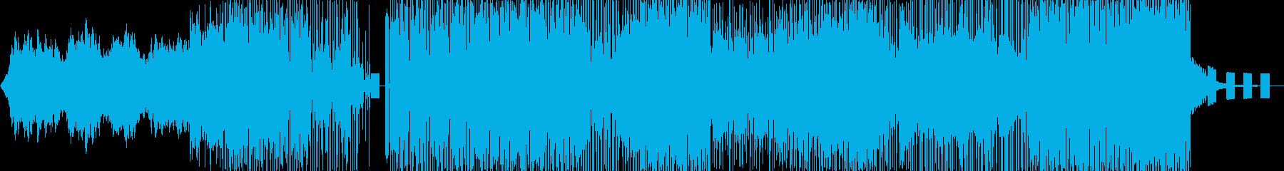 風通しの良い大気のサウンドスケープ...の再生済みの波形