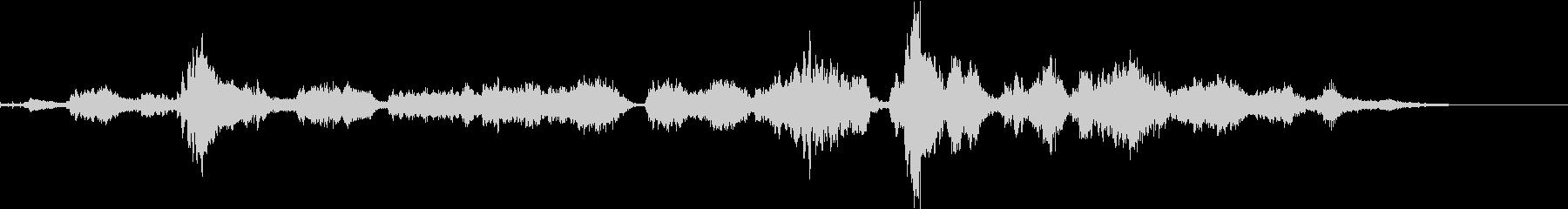 sitarアトモスフィア系女性voiceの未再生の波形