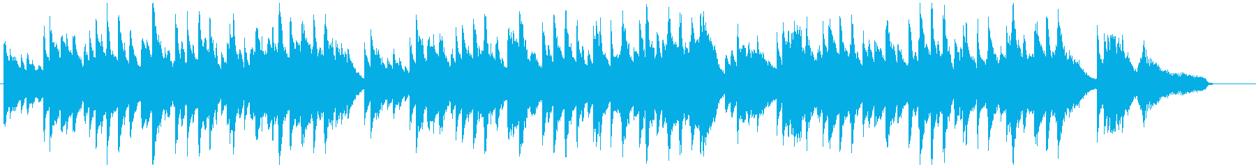 切ない雰囲気のピアノソロの再生済みの波形