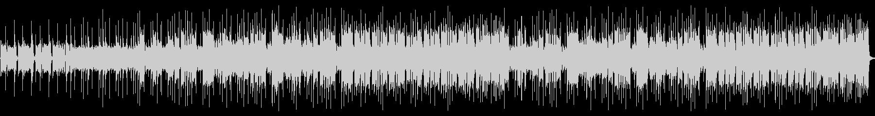 レイドバックとトランペットのレクイエム調の未再生の波形