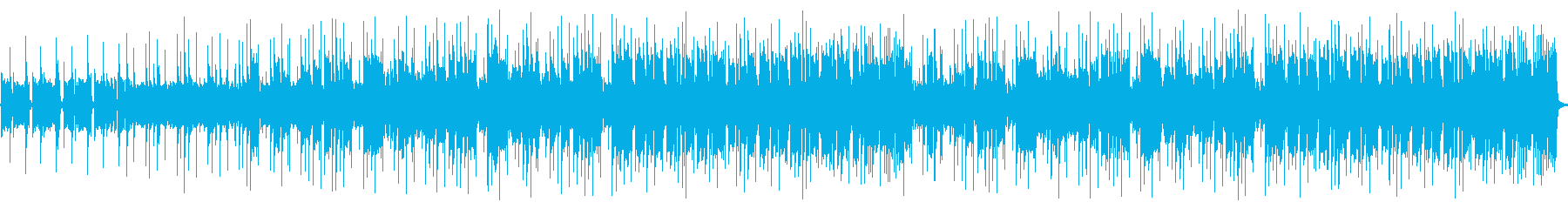 レイドバックとトランペットのレクイエム調の再生済みの波形