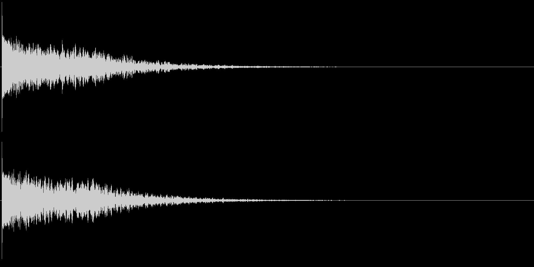 違和感、不穏、不気味な不協和音-C5の未再生の波形