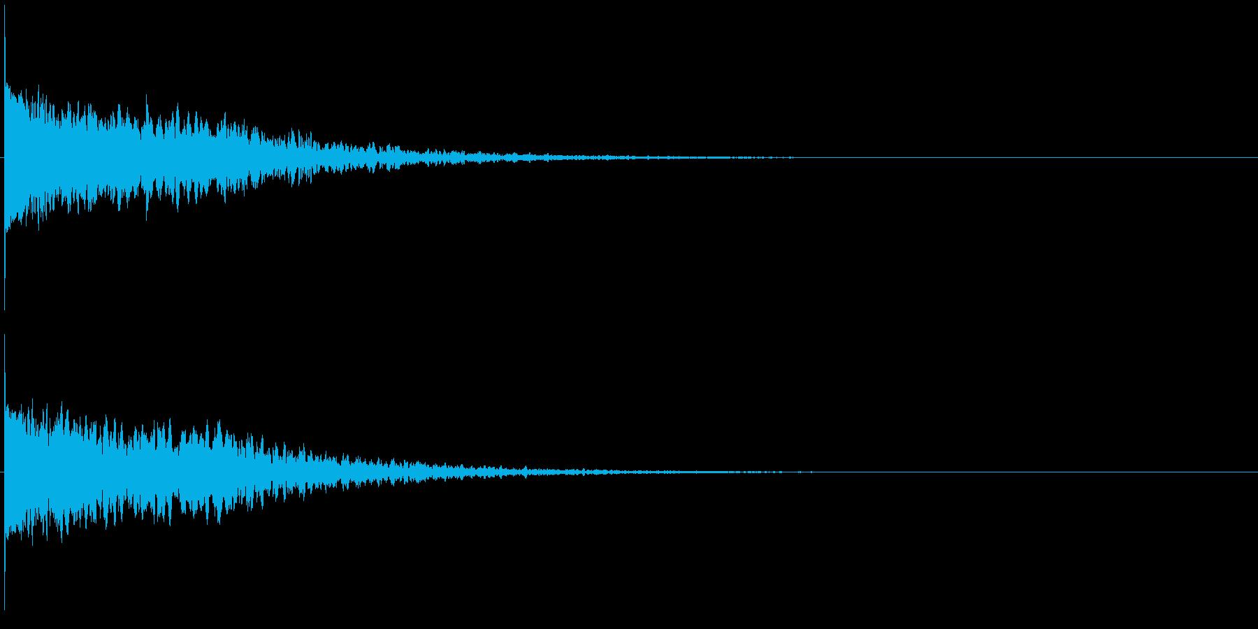 違和感、不穏、不気味な不協和音-C5の再生済みの波形