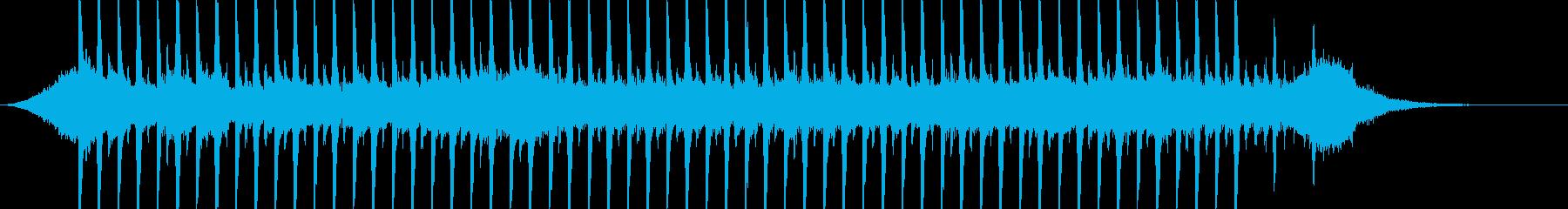 企業VP系22、爽やかギター4つ打ち1cの再生済みの波形