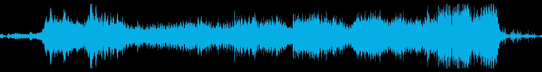神秘的なPV用BGMの再生済みの波形