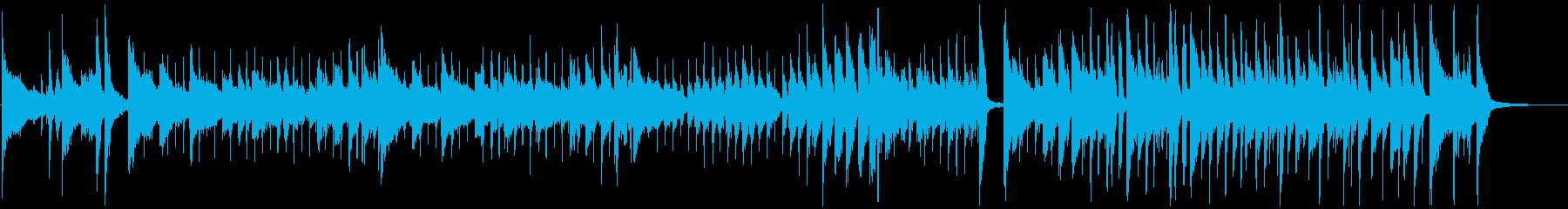 爽やかピアノジャズ 短めな企業用映像にの再生済みの波形