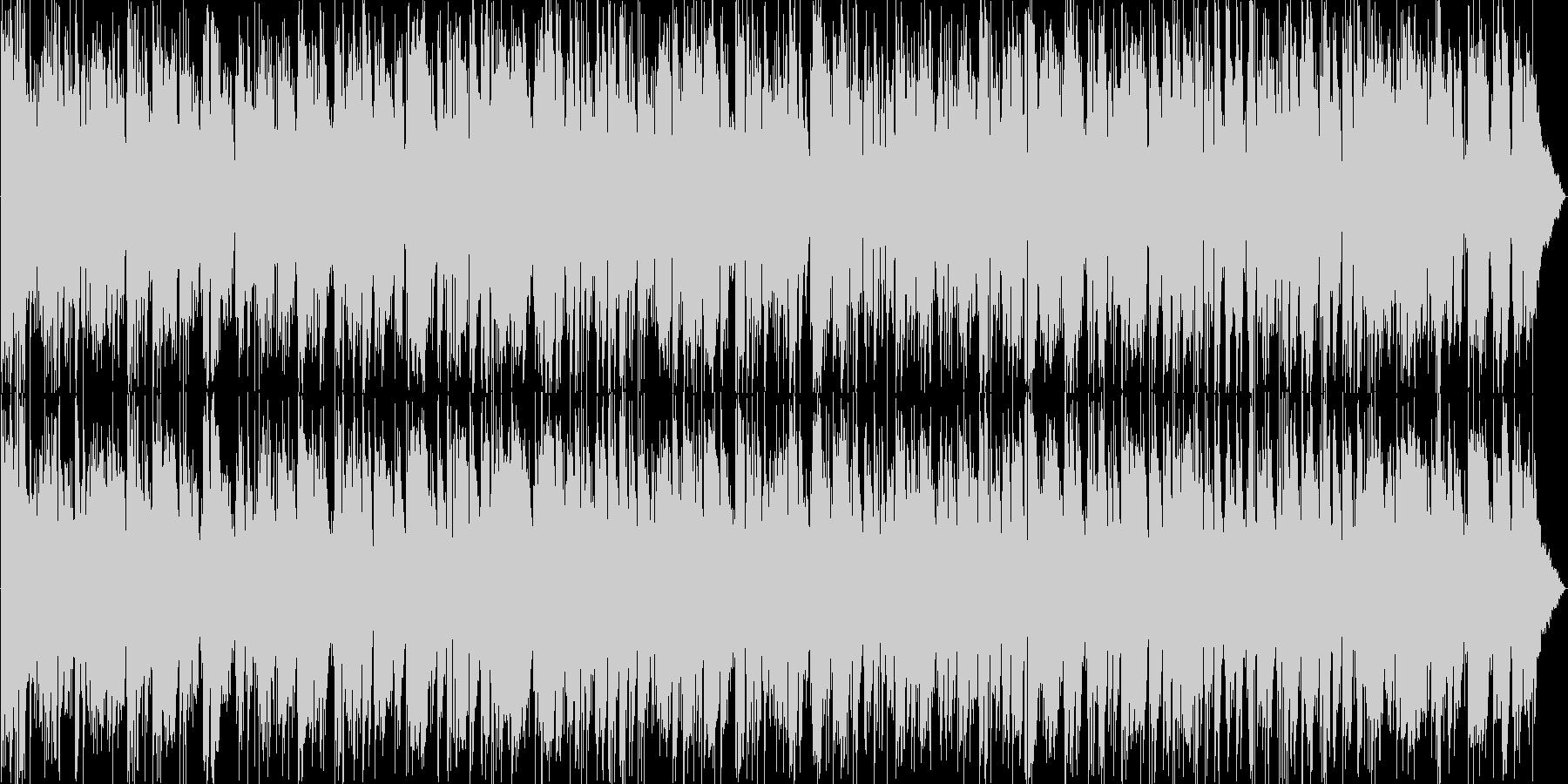 フュージョン系かっこいいアルトサックスの未再生の波形