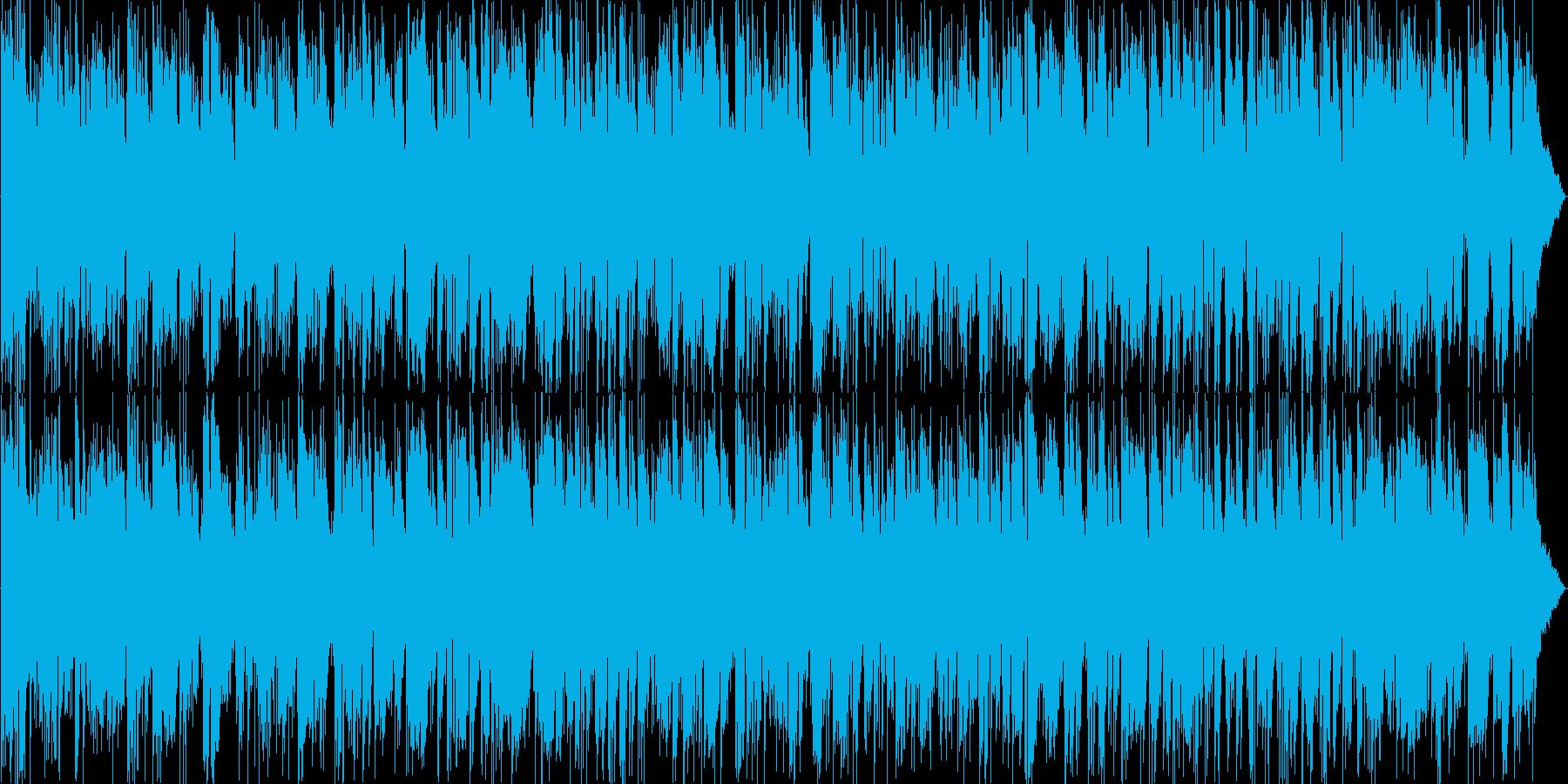 フュージョン系かっこいいアルトサックスの再生済みの波形