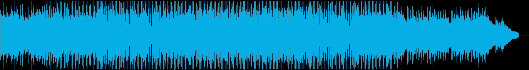 和風ダンスポップの再生済みの波形