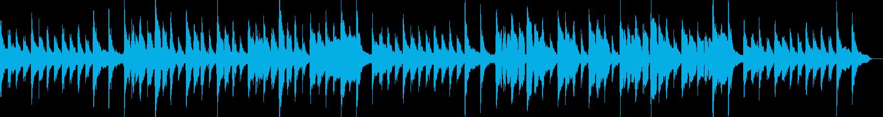子供の歌で天真爛漫な曲の再生済みの波形