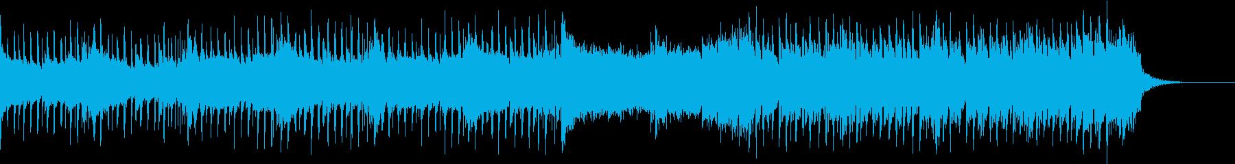 5拍子の壮大でかっこいいオープニングの再生済みの波形