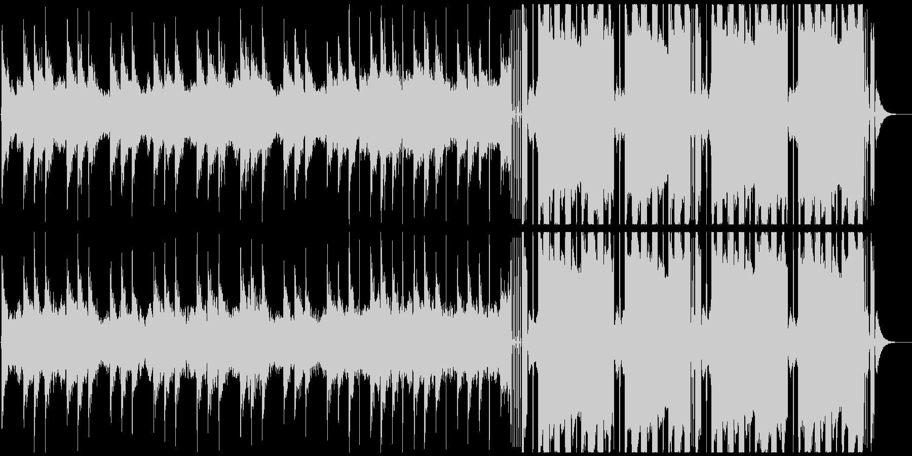 CMジングル向け future bassの未再生の波形