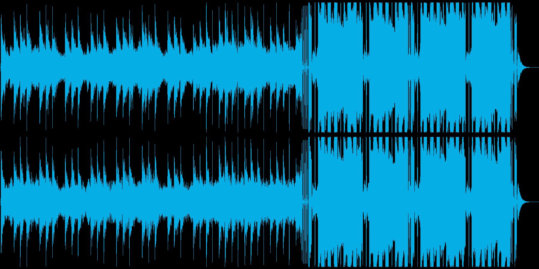 CMジングル向け future bassの再生済みの波形