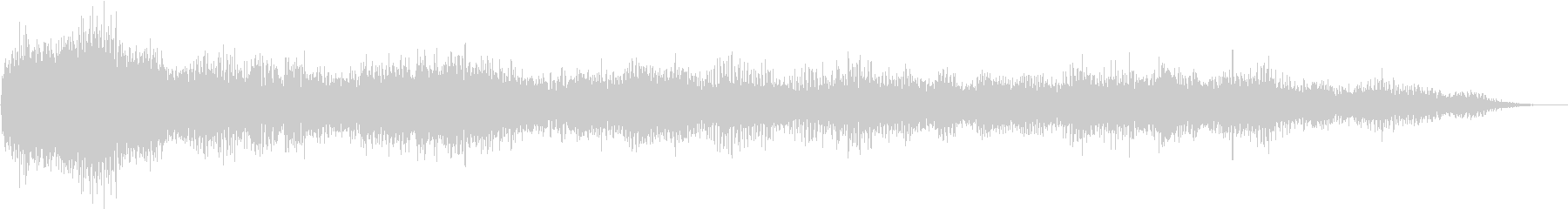 Noise sound source 06 that seems to appear in horror films's unreproduced waveform