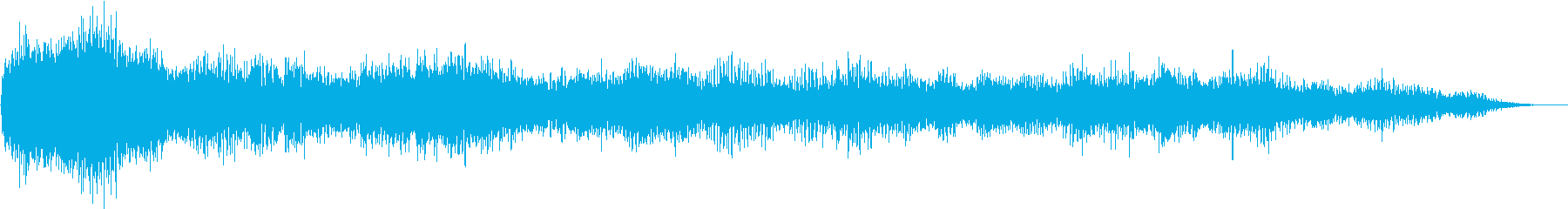 Noise sound source 06 that seems to appear in horror films's reproduced waveform
