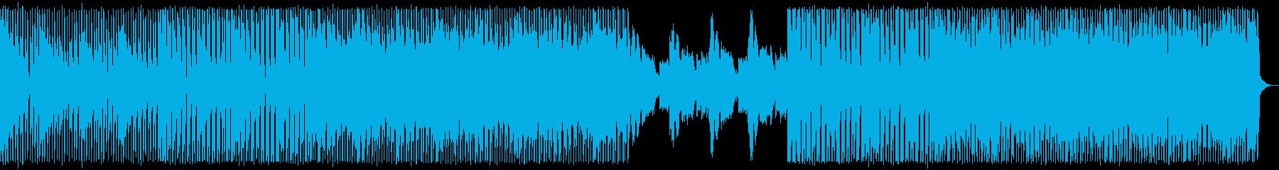 脱力感があるエレクトロ_No625_1の再生済みの波形