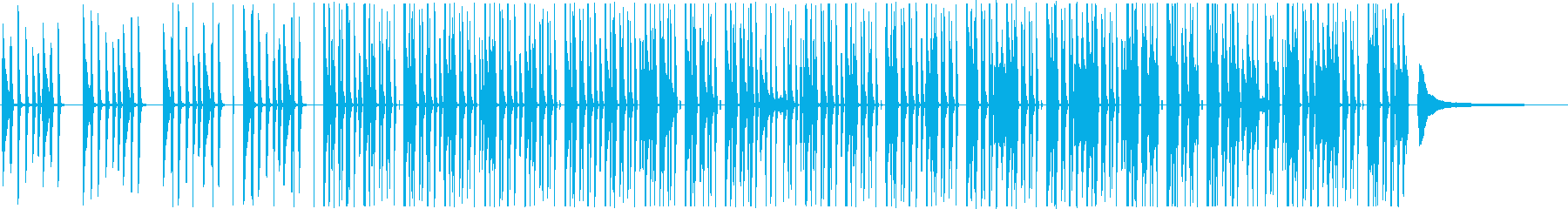 明るく軽快でシンプルなピアノポップスの再生済みの波形