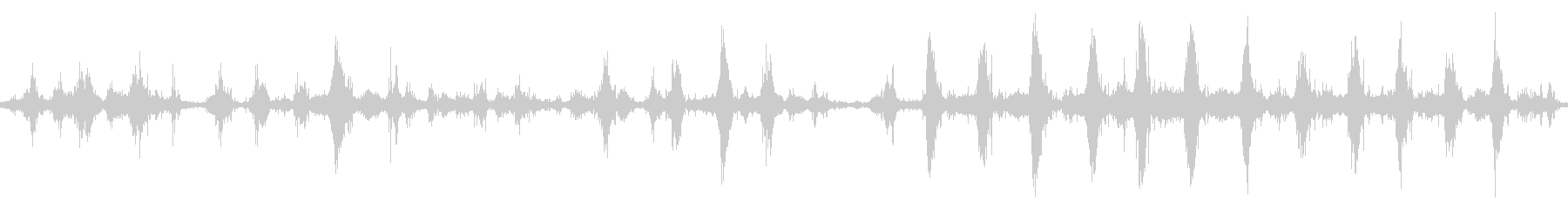 【四国最東端】蒲生田岬の波音03 ループの未再生の波形