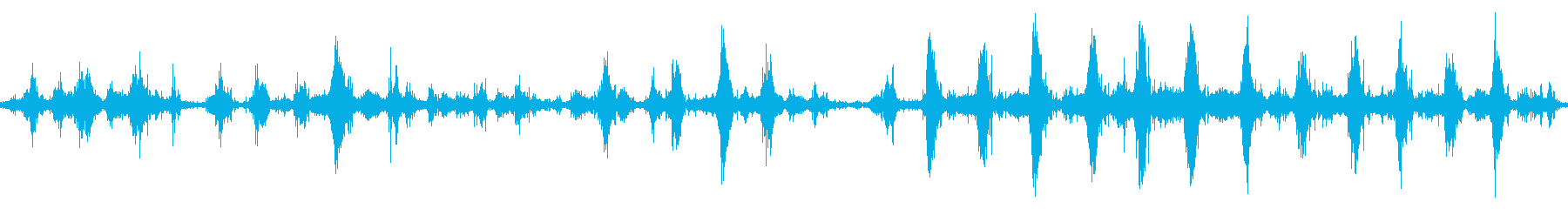 【四国最東端】蒲生田岬の波音03 ループの再生済みの波形