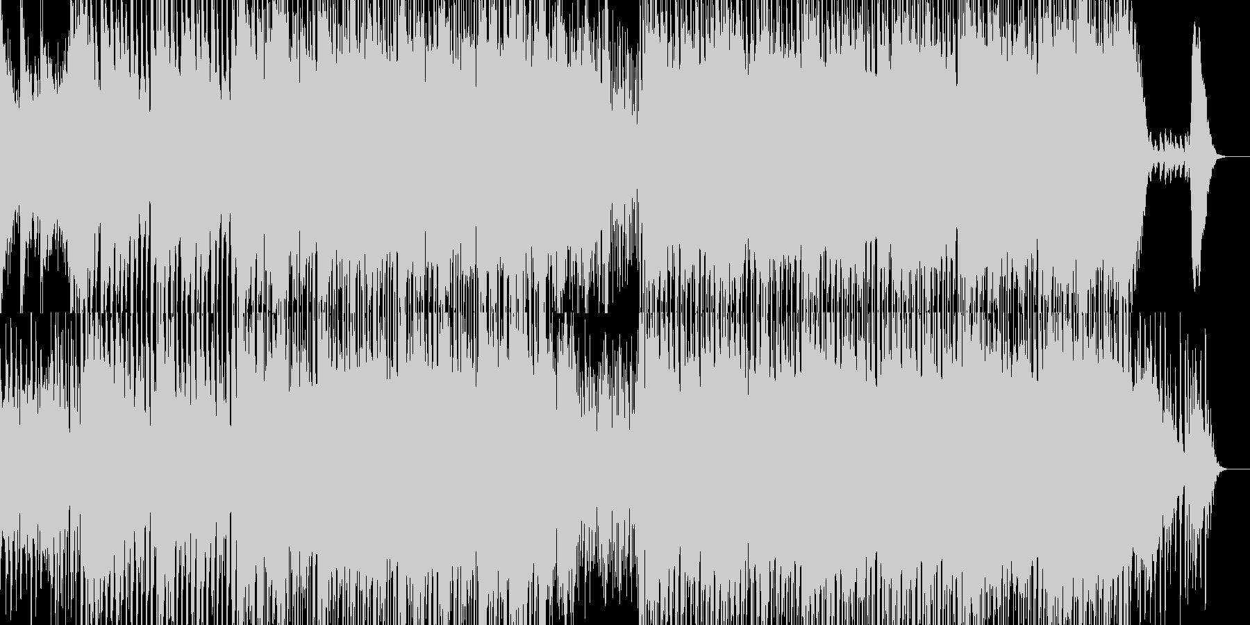 ストリングスによる哀愁感のあるメロディーの未再生の波形
